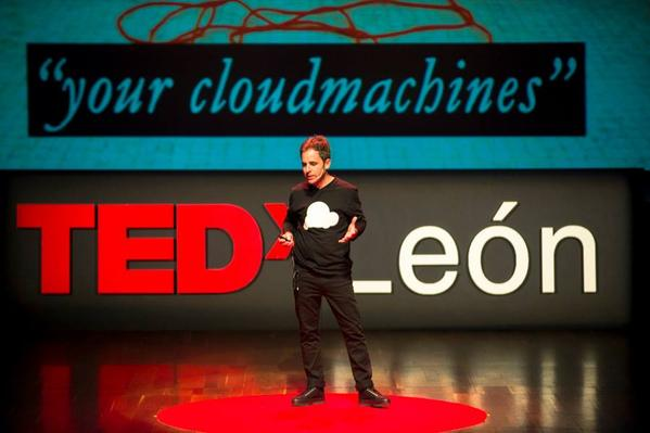 rafa beneytez, TEDxLeon, Z4Z4, YCM, your cloudmachines